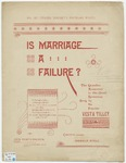 Is Marriage A Failure? : The New Comic Hit