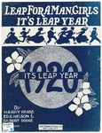 Leap For A Man, Girls, It's Leap Year