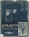 Close dat Eye : A Negro Lullaby