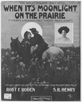 When It's Moonlight On The Prairie : There's A Parson Only Twenty Miles Away