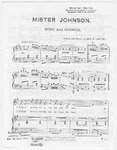 Mister Johnson: Song and  Chorus