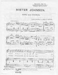 Mister Johnson: Song and  Chorus