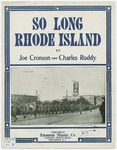So Long Rhode Island