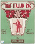 That Italian rag :   (a slow drag)