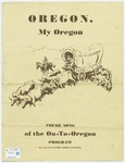 Oregon, My Oregon
