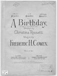 A Birthday : Ein Geburtstag