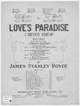 Love's Paradise : I Never Knew