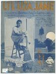 Li'l Liza Jane; Southern Dialect Song