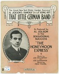 That Little German Band.  Al. Jolson's La, La Song