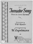 Toreador Song from