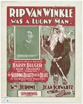 Rip Van Winkle Was A Lucky Man