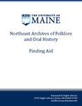 MF176 Maine Ethnographic / Barry H. Rodrigue Collection