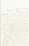 Letter from Achsah Lemont to Frank L. Lemont, November 16, 1862