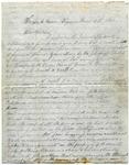 Letter from Frank L. Lemont to Samuel R. Lemont, March 12, 1862