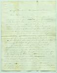 Letter from Frank L. Lemont to Samuel R. Lemont, March 15, 1862