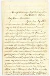 Letter from Frank L. Lemont to J.S. Lemont, October 13, 1862