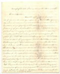 Letter from Frank L. Lemont to J.S. Lemont, November 2, 1862