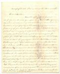 Letter from Frank L. Lemont to J.S. Lemont, November 2, 1862