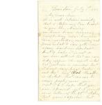 Letter from Samuel R. Lemont to Frank L. Lemont, July 1, 1862