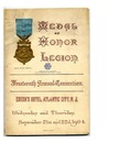 Medal of Honor Legion Fourteenth Annual Convention Booklet