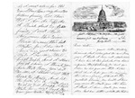 Letter from W.B. Rice to Mrs. Harriet L. Rand, July 31, 1861