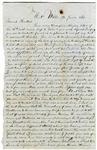 Letter from Asaph Boyden to Almore Haskell, January 25, 1862