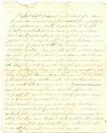 Partial Undated Letter from Frank L. Lemont to Samuel R. Lemont (1862?)