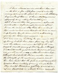 Partial Undated Letter from Frank L. Lemont to J.S.  (May-June 1862?)