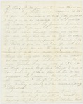 Letter from Charles Warner to his mother Mrs. Almon Warner, August 28, 1863
