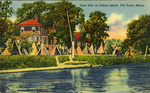 Gala Day on Indian Island. Old Town, Maine. by Pamela Dean