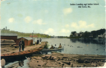 Indian Landing and Indian island Old Town ME by Pamela Dean
