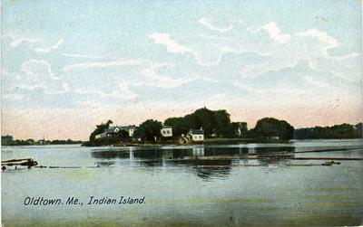 Oldtown Me. Indian Island