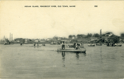 Indian Island, Penobscot River, Old Town, Maine