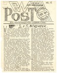 PW Post, Issue 13, November 9, 1945 by Camp Houlton