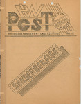 PW Post, Issue 15 Special Edition, December 12, 1945 by Camp Houlton