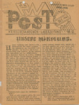 PW Post, Issue 15, December 16, 1945 by Camp Houlton