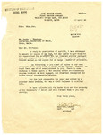 Letter from Army Service Forces to Librarian, University of Maine, April 10, 1946