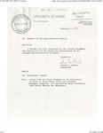 Letters from Martin Luther King Student Union to Chancellor Donald R. McNeil