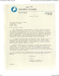 Correspondence between Assistant Chancellor Stanley L. Freeman and President Winthrop Libby on Draft of Discrimination Policy