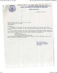 Correspondence between Alberta Jackson and President Lloyd H. Elliott on University of Maine Anti-Discrimination Policies