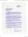 Letter from Nicole Kimball to Hugh Saunders on University of Maine's Sororities Membership