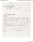 Black Symposium_ Invitation Letter from Stephen Hughes to James Forman to the Symposium on Black America