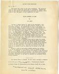 University of Maine's History Union Newsletter