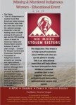 Educational Event Co-Sponsored by University of Maine Black Student Union on 'Missing and Murdered Indigenous Women'