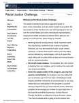 The Racial Justice Challenge created by the University of Maine's Raymond H. Fogler Library and the Office for Diversity and Inclusion in Fall 2020 by Jennifer I. Bonnet