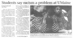 Maine Campus_Students say racism a problem at UMaine