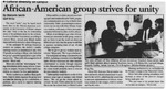 Maine Campus_African-American group strives for unity