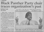 Maine Campus_Black Panther Party chair traces organization's past