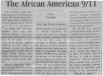 Maine Campus_The African American 9:11