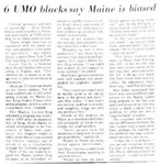 Maine Campus_UMO blacks say Maine is biased